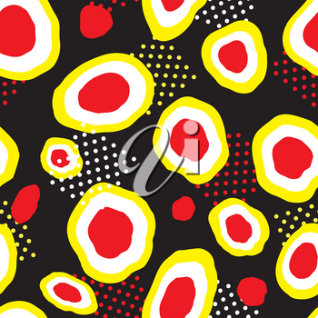 Abstact seamless pattern. Dot texture. Dotted ornament.