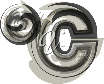 Abstract celcius Symbol illustration