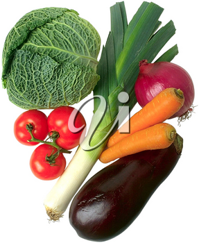 Royalty Free Photo of Assorted Vegetables