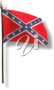 Royalty Free Photo of the Confederate Flag
