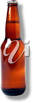 Royalty Free Photo of a Bottle of Beer