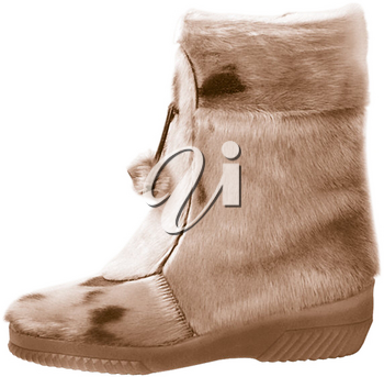 Royalty Free Photo of a Mukluk Boot