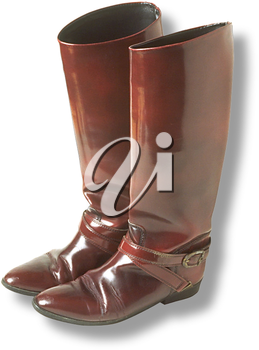 Royalty Free Photo of a Ladie's Fashion Boot