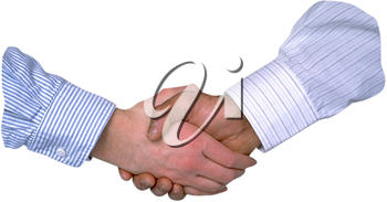 Royalty Free Photo of a Hand Shake
