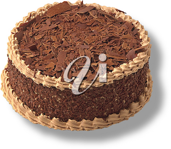 Royalty Free Photo of a Fancy Chocolate Cake