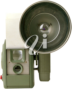 Royalty Free Photo of a Vintage Photographer's Camera