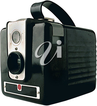 Royalty Free Photo of a Vintage Camera