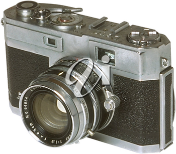 Royalty Free Photo of a Classic Camera