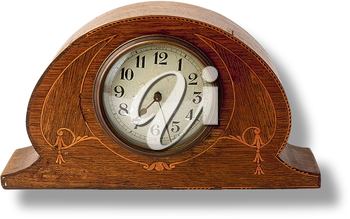 Royalty Free Photo of an Antique Clock