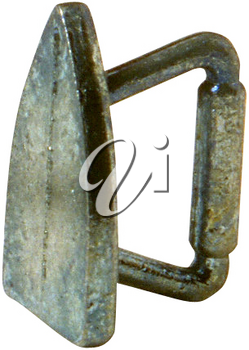 Royalty Free Photo of an Antique Iron