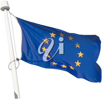 Royalty Free Photo of a Flag of Europe