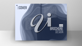 Catalog Cover Design Vector. Corporate Business Template. Template For Design. Ilustration
