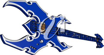 It is used in a wide variety of musical genres worldwide primarily in jazz rock pop country bluegrass etc vector color drawing or illustration